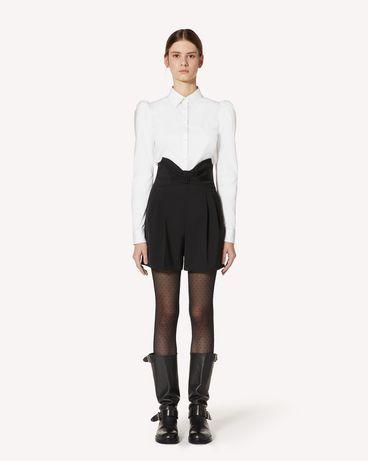 REDValentino UR3RFD5500J 0NO 短裤 女士 f