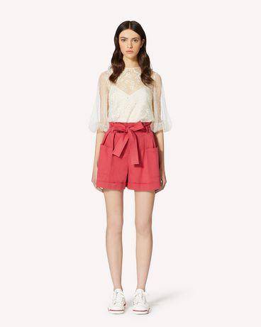 REDValentino TR0RFD104YN FE7 短裤 女士 f