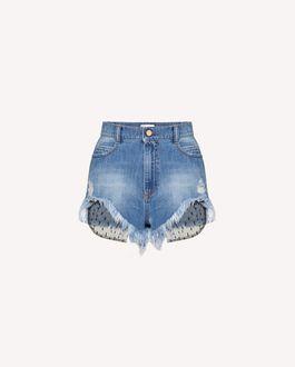 REDValentino 短裤 女士 UR3DD02V594 568 a