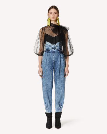 REDValentino UR3DD02U59W B01  裤装 女士 f