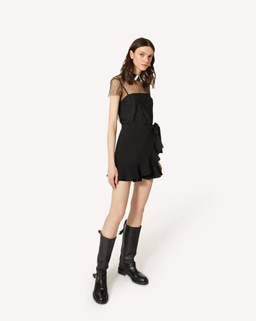 REDValentino UR3RFD65562 0NO 短裤 女士 d