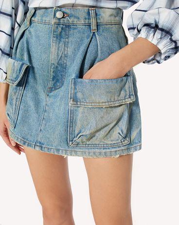 REDValentino 牛仔短裤