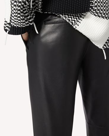 REDValentino 皮革长裤