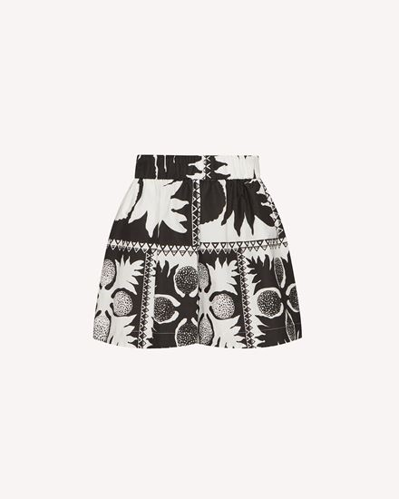 REDValentino 短裤 女士 VR0RFE955SA 0NO a