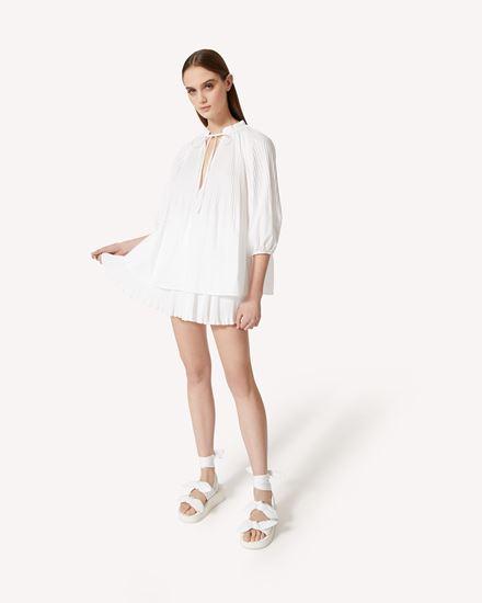 REDValentino 短裤 女士 VR0RFA55LUN 001 d