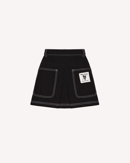 REDValentino 短裤 女士 VR0RFE805S7 0NO a