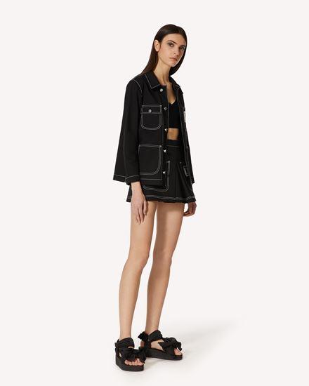 REDValentino 短裤 女士 VR0RFE805S7 0NO d