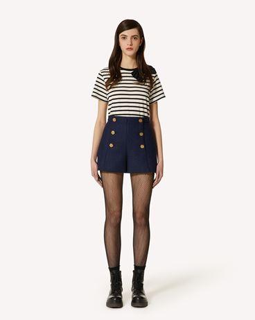 REDValentino 羊毛人字纹短裤