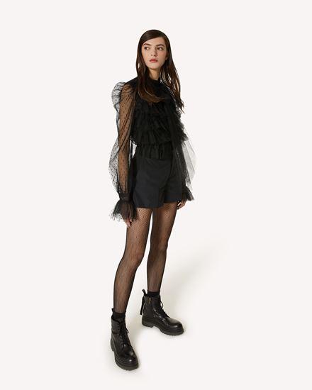 REDValentino 短裤 女士 WR3RFF651FP 0NO d