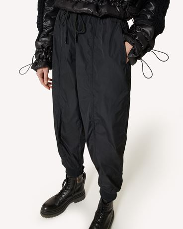 REDValentino The Black Tag。 - 塔夫绸长裤