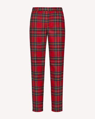 REDValentino 粗花呢长裤