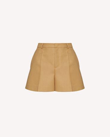REDValentino 致密羊毛短裤