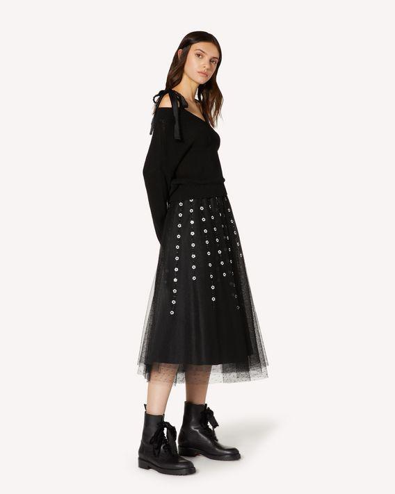 REDValentino REDBALLET 胶囊系列 - 露肩羊毛毛衣