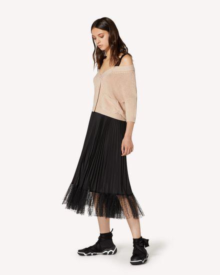 REDBALLET 胶囊系列 - 露肩羊毛开衫