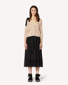 REDValentino REDBALLET 胶囊系列 - 露肩羊毛开衫