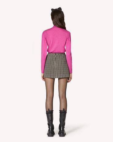 REDValentino 羊毛、真丝及羊绒混纺毛衣