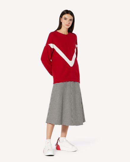 REDValentino 针织衫 女士 VR3KC06D5NF LE0 d