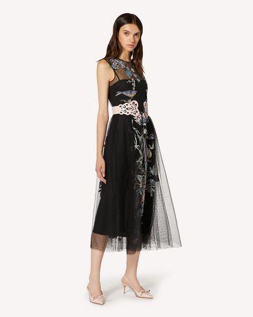 REDValentino TR3VA12G4T4 0NO 长款与中长款连衣裙 女士 d