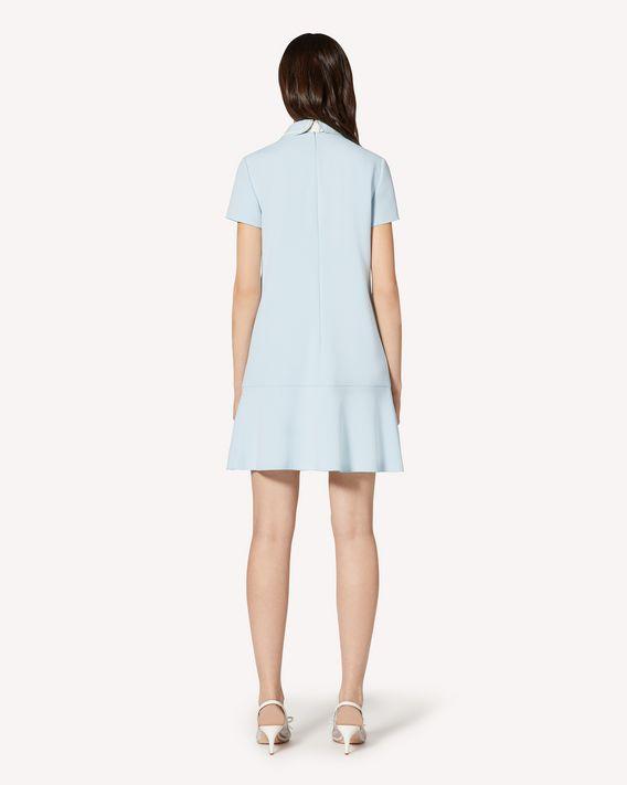 REDValentino 领部细节 Frisottino 连衣裙