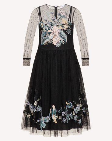 REDValentino TR3VA12F4T4 0NO 短款连衣裙 女士 a