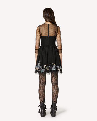 REDValentino TR3VA12F4T4 0NO 短款连衣裙 女士 r