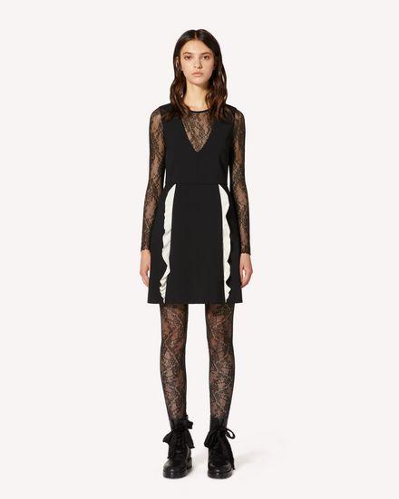 REDValentino 短款连衣裙 女士 TR3VAN553FT 0NA f