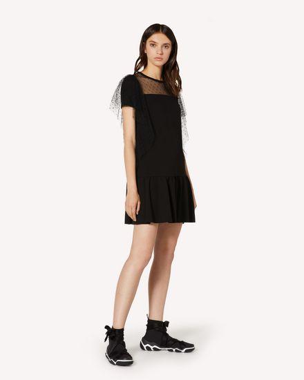 REDValentino 短款连衣裙 女士 TR3MJ03P4UG 0NO d