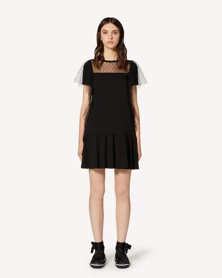 REDValentino 短款连衣裙 女士 TR3MJ03P4UG 0NO f