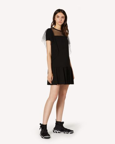 REDValentino TR3MJ03P4UG 0NO 短款连衣裙 女士 d