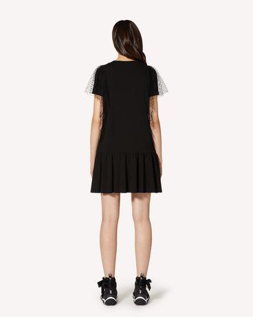 REDValentino TR3MJ03P4UG 0NO 短款连衣裙 女士 r