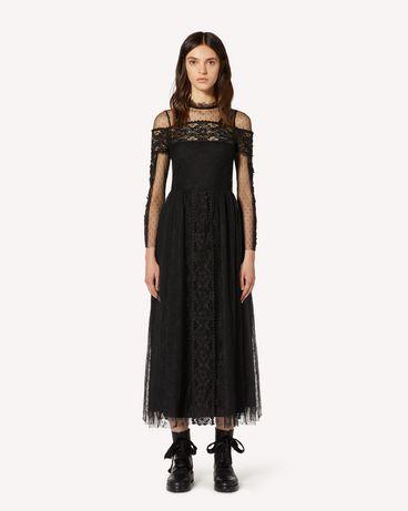 REDValentino TR3VA11A4T9 0NO 长款与中长款连衣裙 女士 f