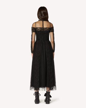 REDValentino TR3VA11A4T9 0NO 长款与中长款连衣裙 女士 r