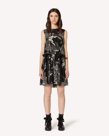 REDValentino TR3VAM054RT 0NO 短款连衣裙 女士 f