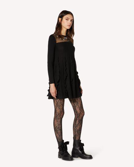 REDValentino 短款连衣裙 女士 TR3KDB394UV 0NO d