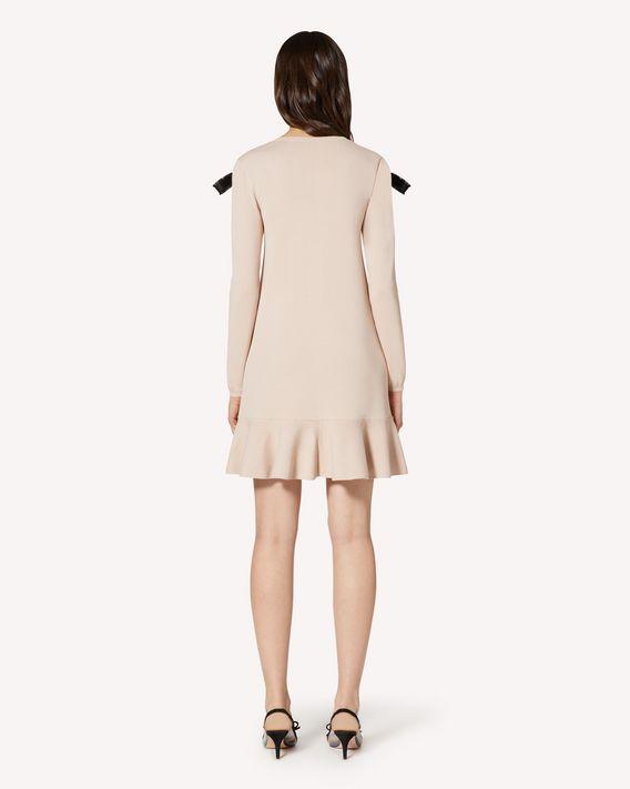 REDValentino REDBALLET 胶囊系列 - 饰带细节弹力粘胶连衣裙