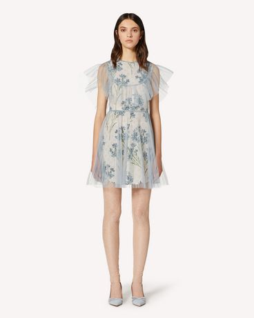 REDValentino TR3VAN614SN E34 短款连衣裙 女士 f