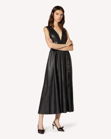 REDValentino TR3ND00F4TK 0NO 长款与中长款连衣裙 女士 d