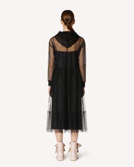 REDValentino 细点网眼薄纱连衣裙