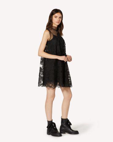 REDValentino TR3VA11L4T5 0NO 短款连衣裙 女士 d