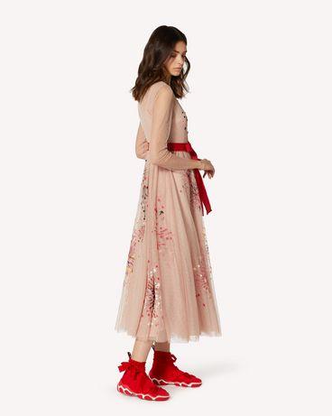 REDValentino TRCVA14Q56W 377 长款与中长款连衣裙 女士 d