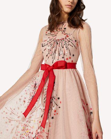 REDValentino TRCVA14Q56W 377 长款与中长款连衣裙 女士 e