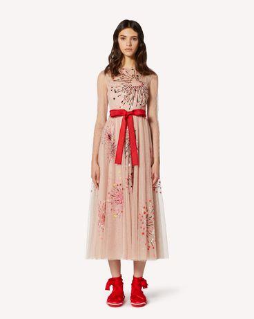 REDValentino TRCVA14Q56W 377 长款与中长款连衣裙 女士 f
