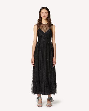 REDValentino TR3VAL004RL 0NO 长款与中长款连衣裙 女士 f