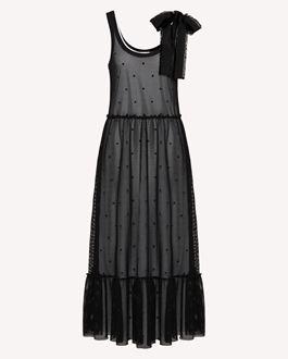 REDValentino 长款与中长款连衣裙 女士 TR0MJ03Q54C 0NO a