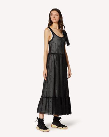 REDValentino TR0MJ03Q54C 0NO 长款与中长款连衣裙 女士 d