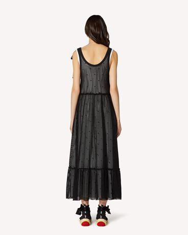 REDValentino TR0MJ03Q54C 0NO 长款与中长款连衣裙 女士 r