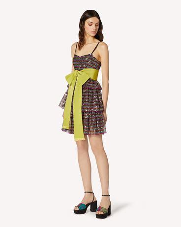 REDValentino TR0VA12W51U N78  短款连衣裙 女士 d