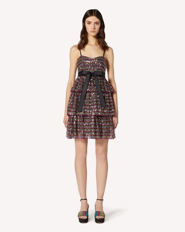 REDValentino TR0VA12W51U N78  短款连衣裙 女士 f