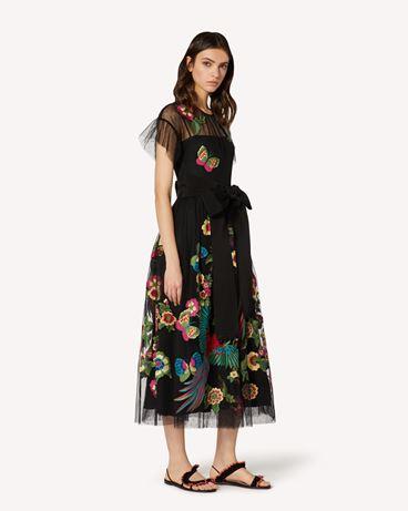 REDValentino TR0VA11U51S 0NO  长款与中长款连衣裙 女士 d