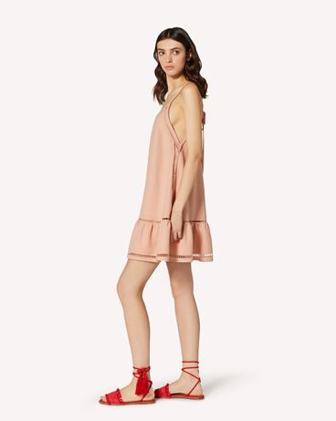 REDValentino TR0VA12D51B 377  短款连衣裙 女士 d
